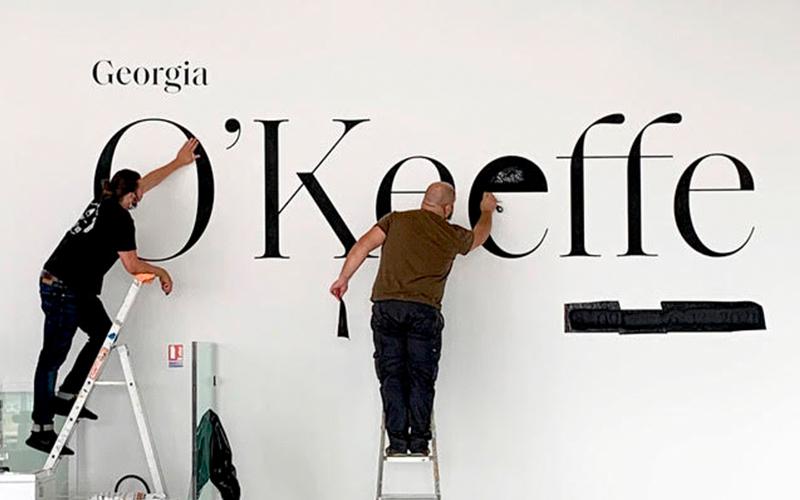 Georgia O'Keeffe exposición París